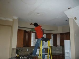 Flood Damage Restoration For Ceiling Repair