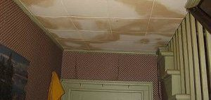 Water Damage Ceiling Restoration