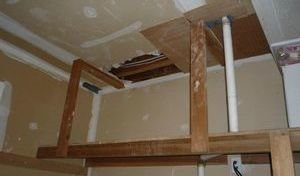 Water Damage White Settlement Closet Repair