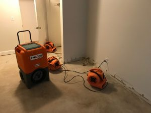 Drying Out A Bedroom After A Sewage Backup